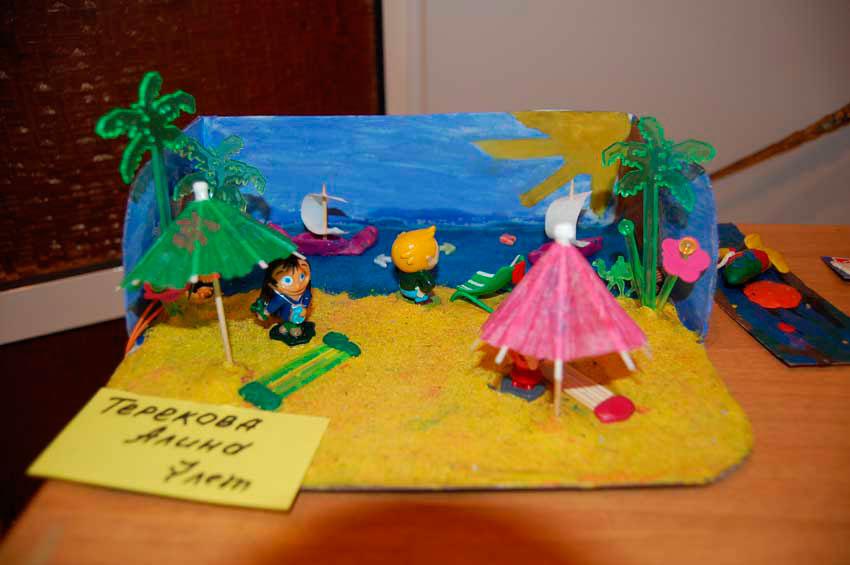 Поделки на тему лето своими руками в детском саду