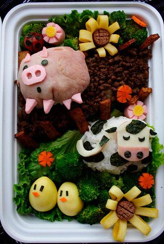 необычный завтрак для детей