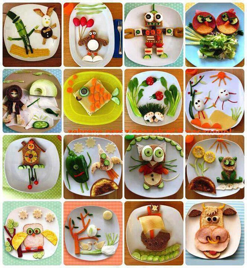 идеи для оформления блюд