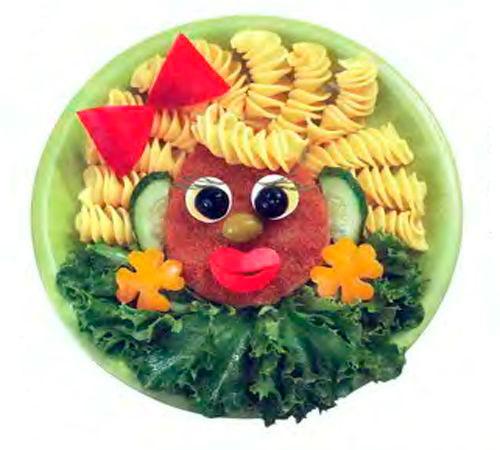 оформление детских блюд на праздник