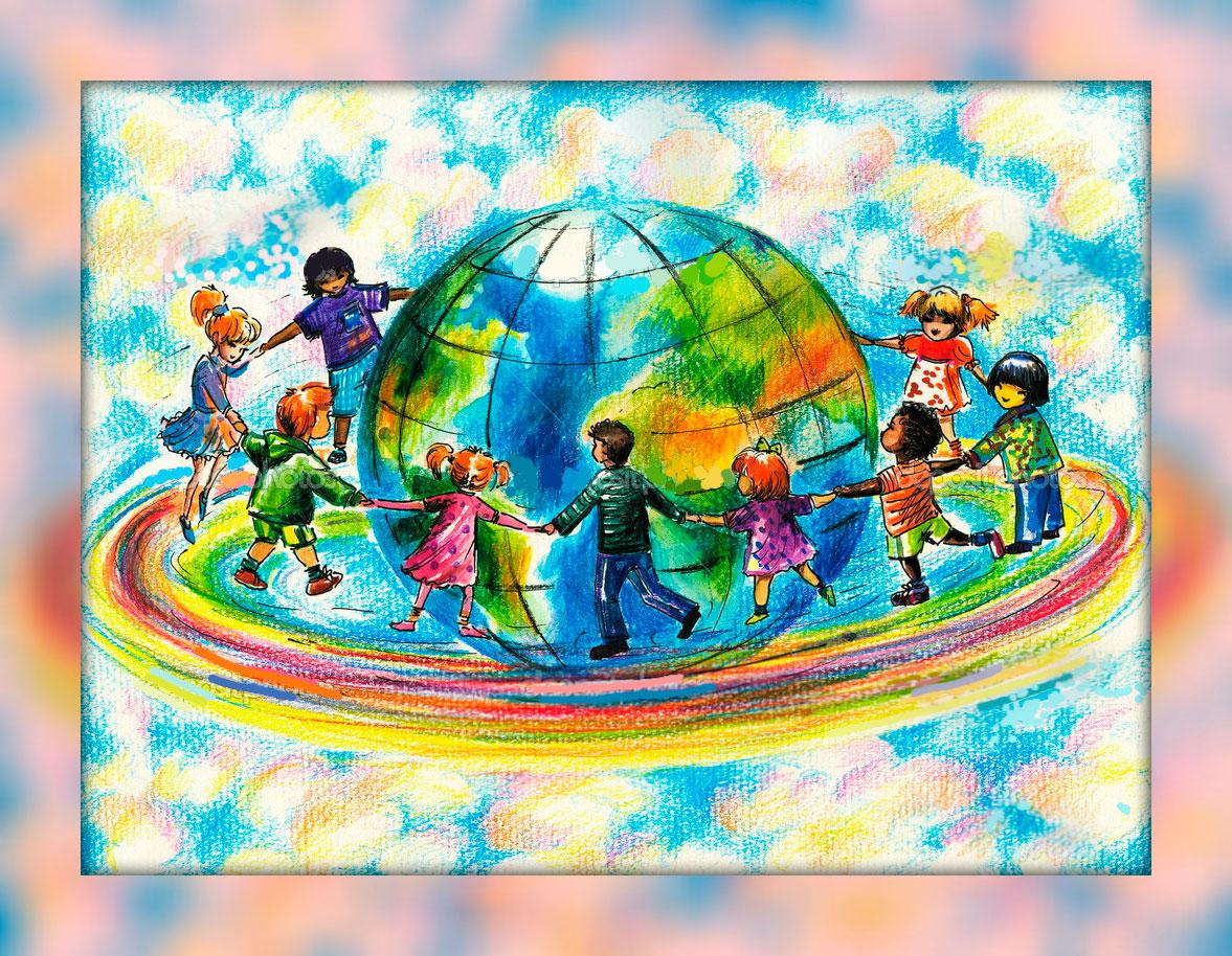 Детские стихи о мире и дружбе