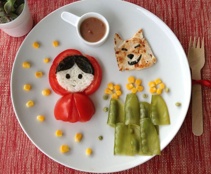 как заставить ребенка съесть овощи