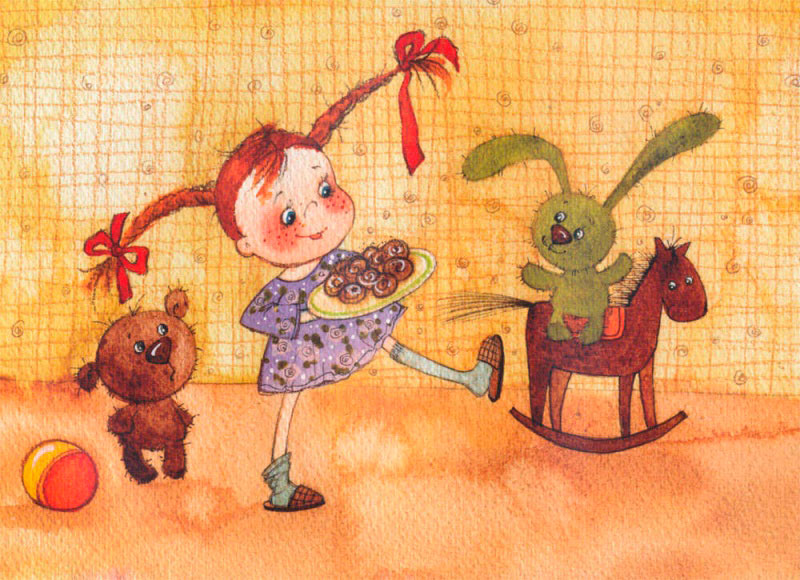 Детские стихи про игрушки