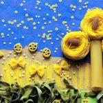 Аппликации из макарон: лучшие идеи