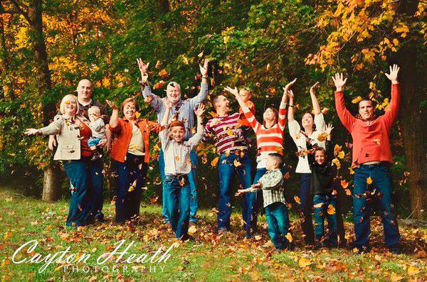 лучшие идеи для семейной фотосессии