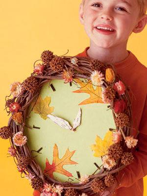 Поделки осенью с детьми