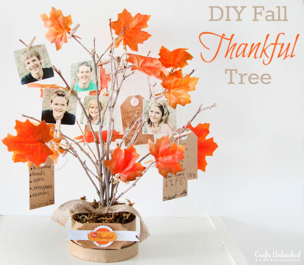 красивое осенние дерево с фотографиями