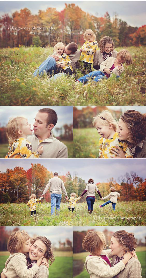 папа, мама и трое детей идея для фото