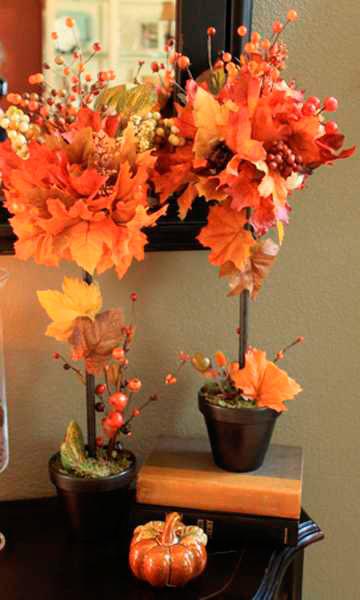 Картинки поделки про осень