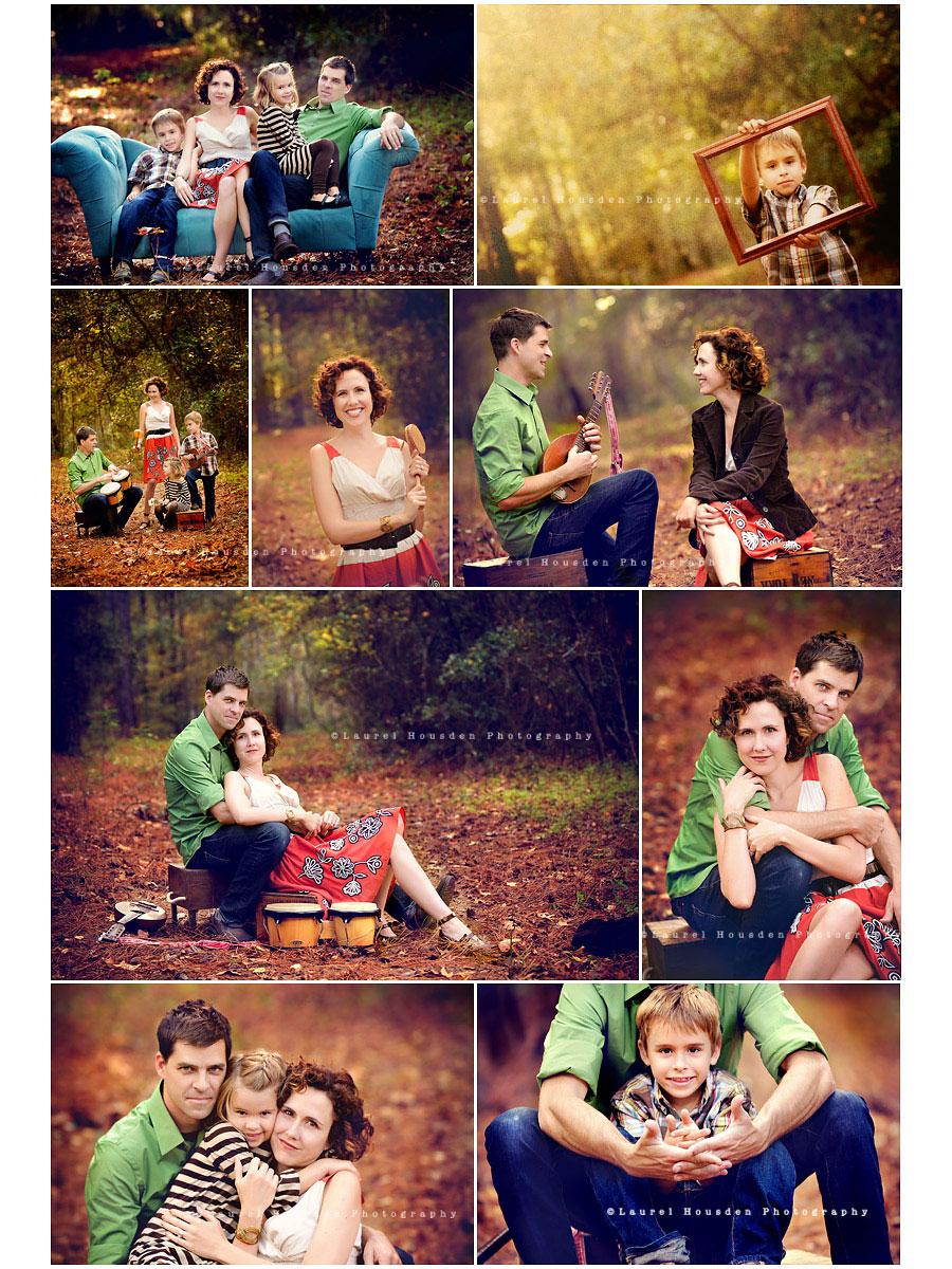 идеи для семейной осенней фотосессии