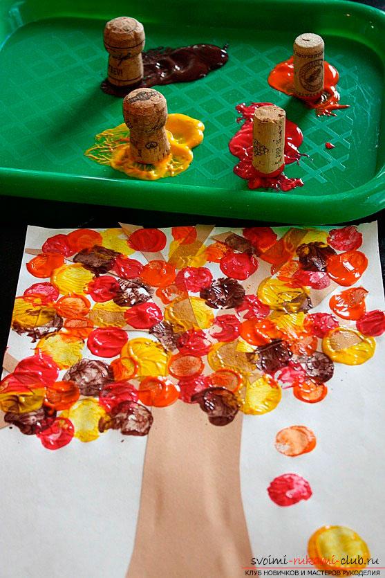 Картинки поделок золотая осень