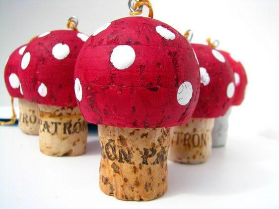маленькие грибы