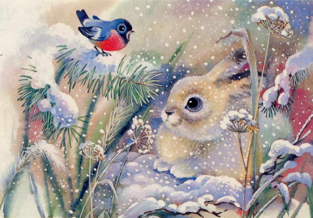 winter puzzles for children