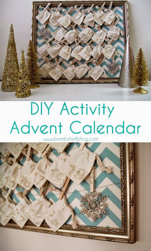 do-it-yourself advent calendar