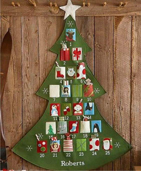 sew an advent calendar with your own hands