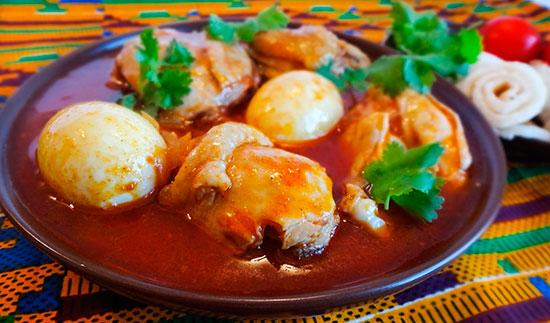 эфиопский национальный рождественский цыпленок