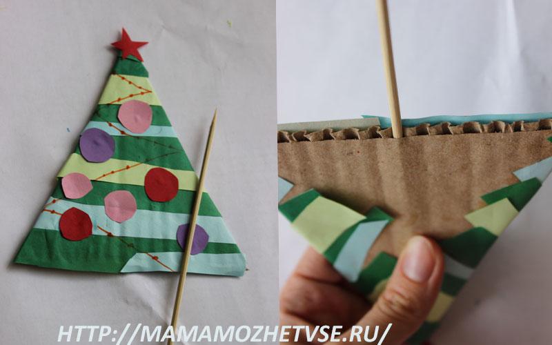 поделка к Новому году для детей