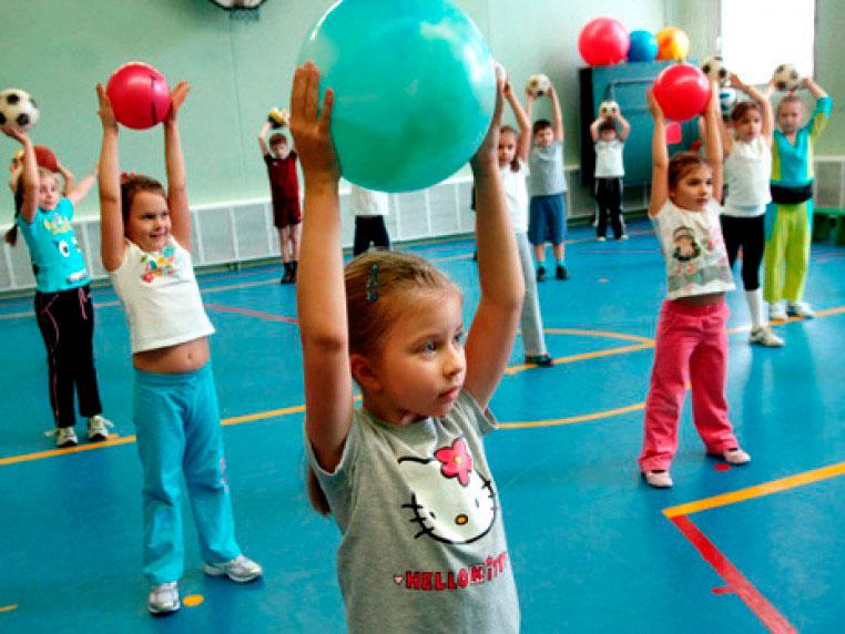 Физическое воспитание детей в школе