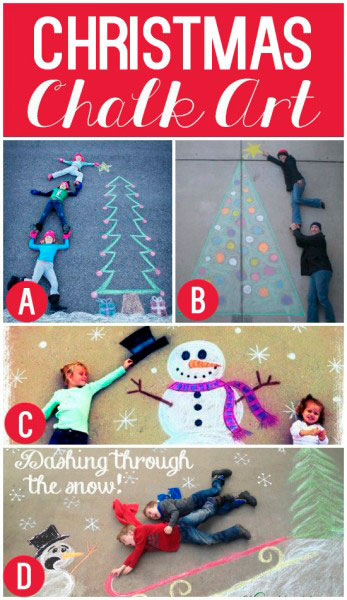 творческие идеи для новогодней фотосессии