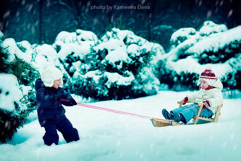 загадки про зиму с ответами для детей