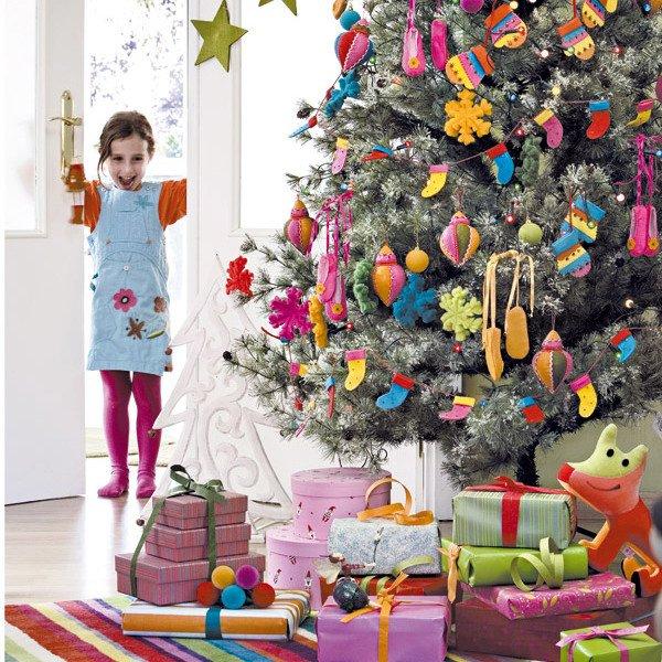 новогодняя елка в детской
