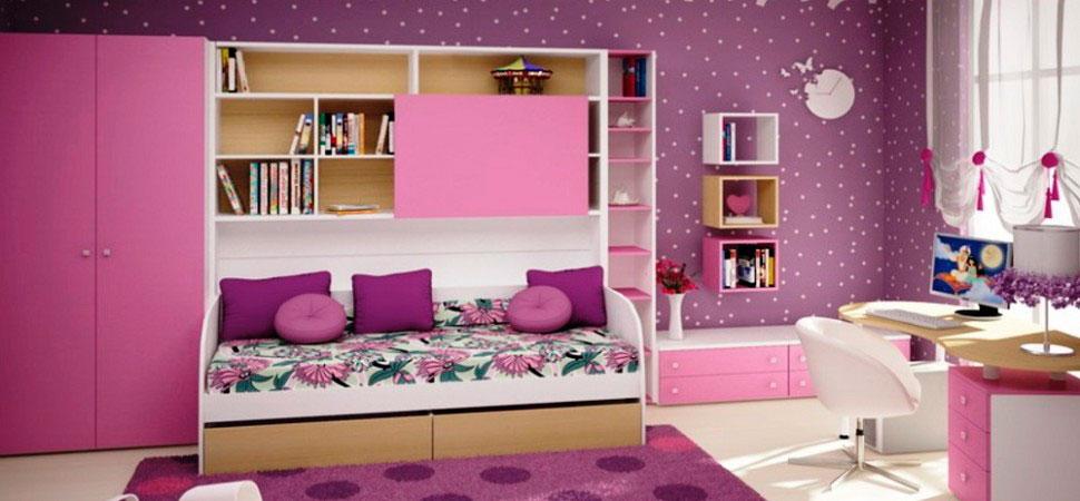 темный оттенок фиолетовой комнаты