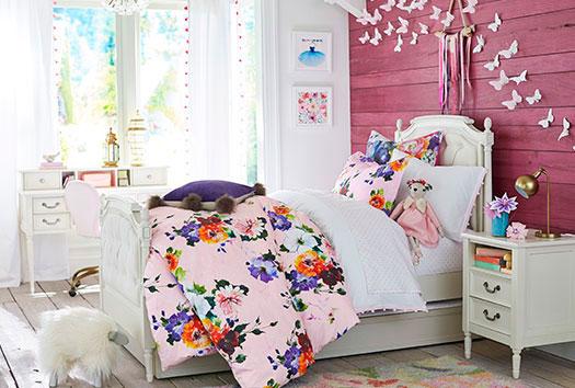 фотография фиолетовой комнаты ребенка 5
