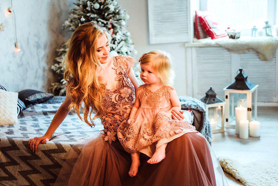Идеи для фото мамы и дочки 3