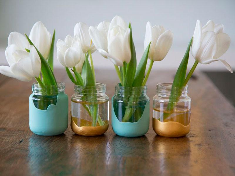 вазочки для цветов