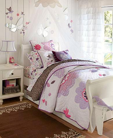 фотография фиолетовой комнаты ребенка 6