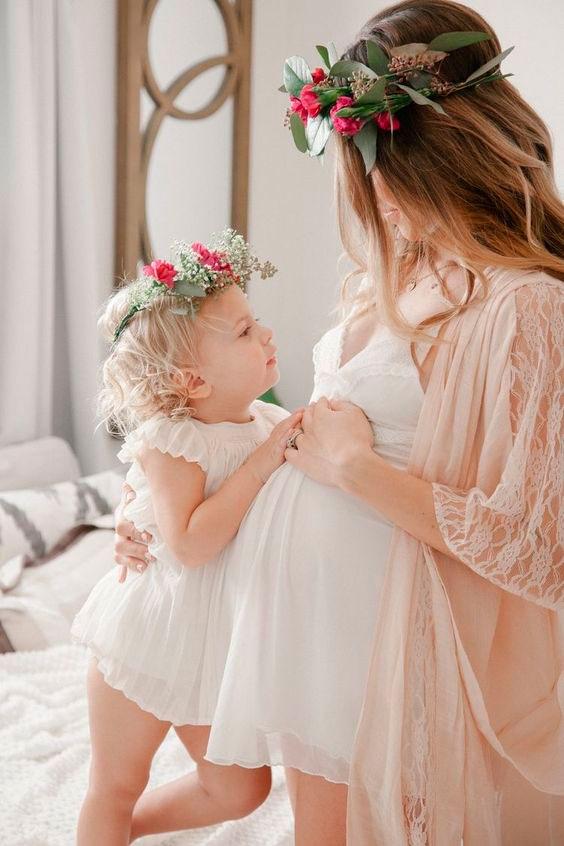 фотографии мамы и дочки в одинаковой одежде 10