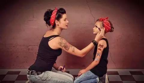 Идеи для фото мамы и дочки 7