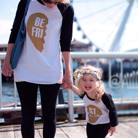 фотографии мамы и дочки в одинаковой одежде 4