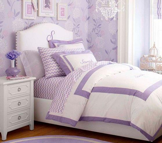 фотография фиолетовой комнаты ребенка 7