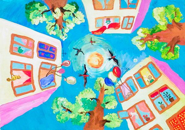 стихи про город для детей от 3 до 8 лет