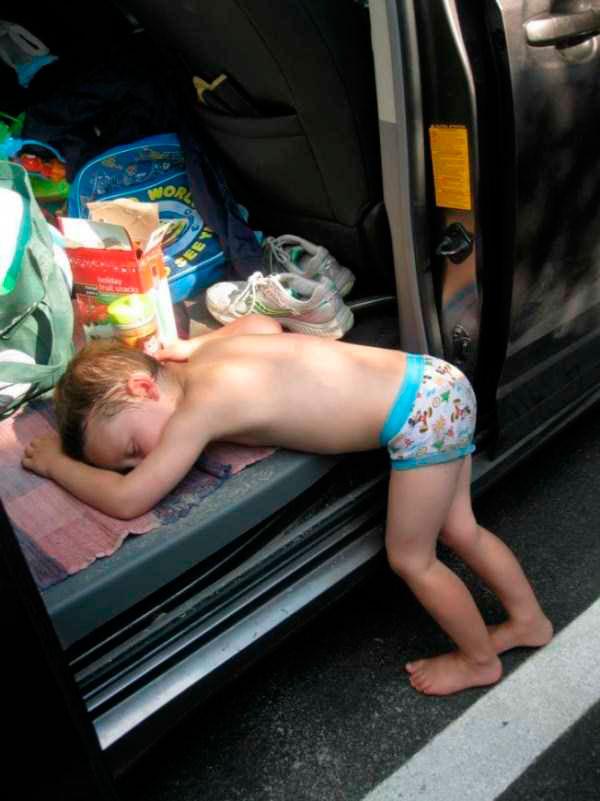 смешно спящие дети 3