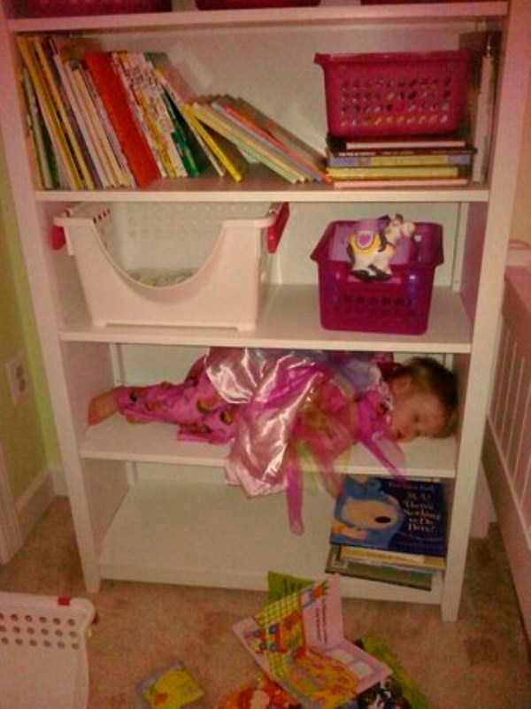 дети могут уснуть где угодно