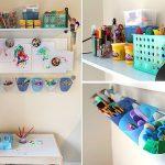 Детский уголок для творчества: 18 фото идей