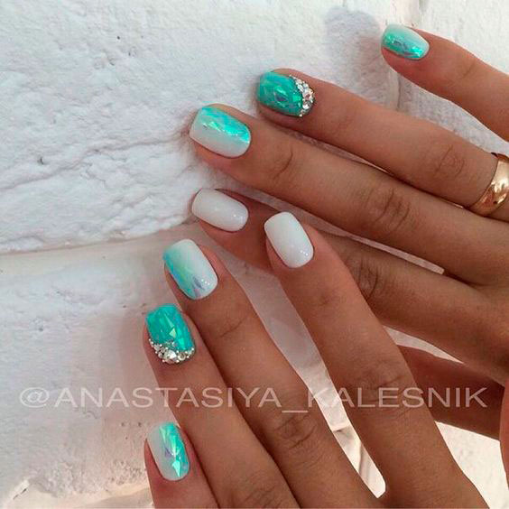 Shattered Glass Nails 2