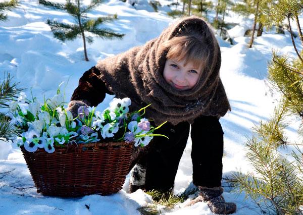 загадки про весенние цветы для детей