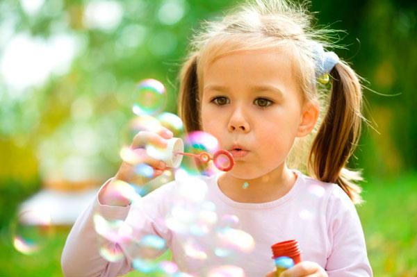 мыльные пузыри для развития речевого дыхания у детей