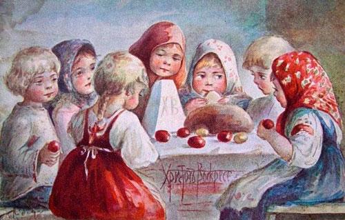 Стихи про пасху для детей 6-7 лет