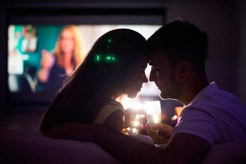 Романтический вечер для мужа дома