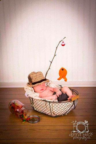 самые яркие идеи для фотосессии новорожденных
