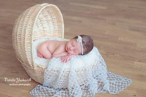 идеи для фотосессии новорожденных: маленькая принцесса