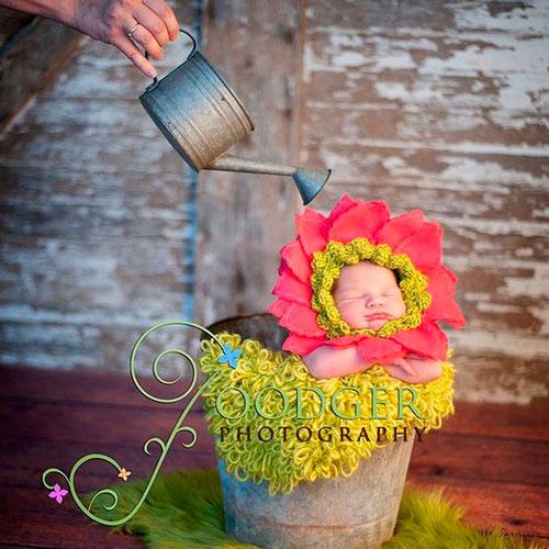 лучшие идеи для фотосессии новорожденных 2