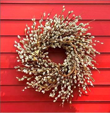 пасхальные венки для украшения дома 3