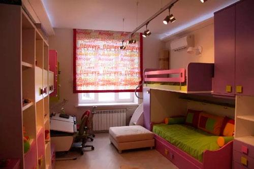 дизайн детской комнаты для девочек 6