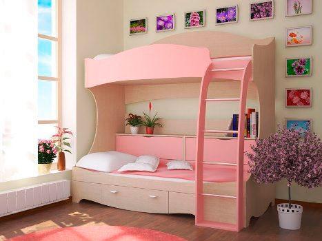 дизайн комнаты для девочек 10