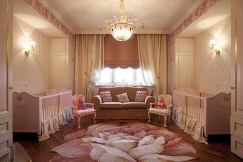 дизайн детской комнаты для девочек 8